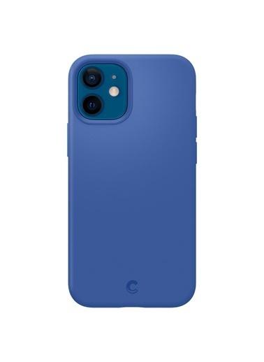 Spigen İphone 12 Mini Kılıf, Spigen By Cyrill Silicone Mavi